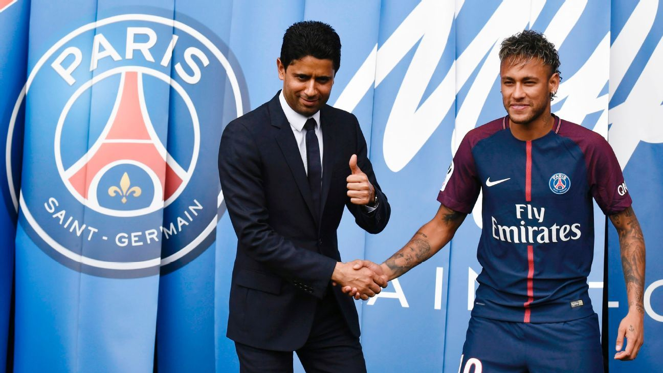 Nasser Al-Khelaifi has promised that Neymar will remain at PSG.