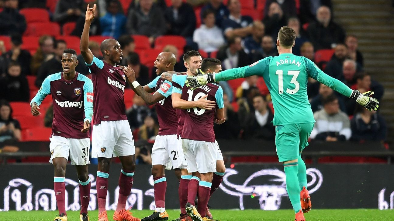 West Ham completed an improbable comeback on Wednesday night.
