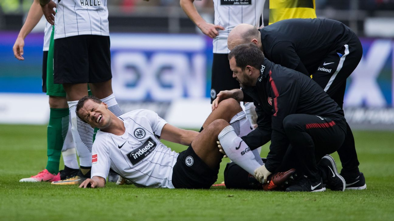 Chandler injury vs Dortmund