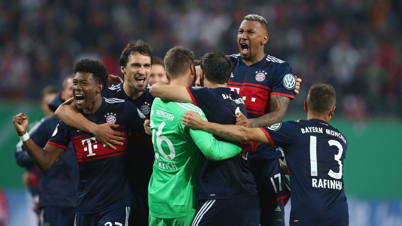 Bayern celeb vs Leipzig Pokal 171025
