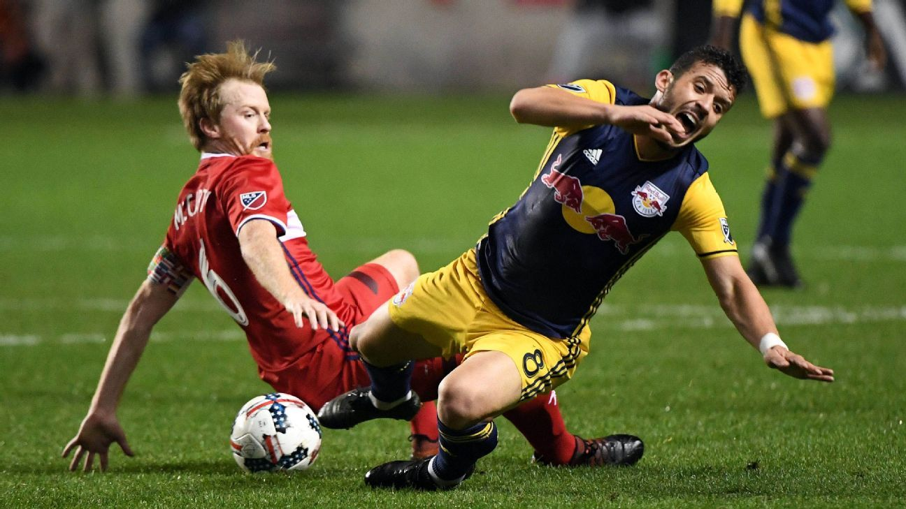 Dax McCarty signs two-year contract extension with Chicago Fire