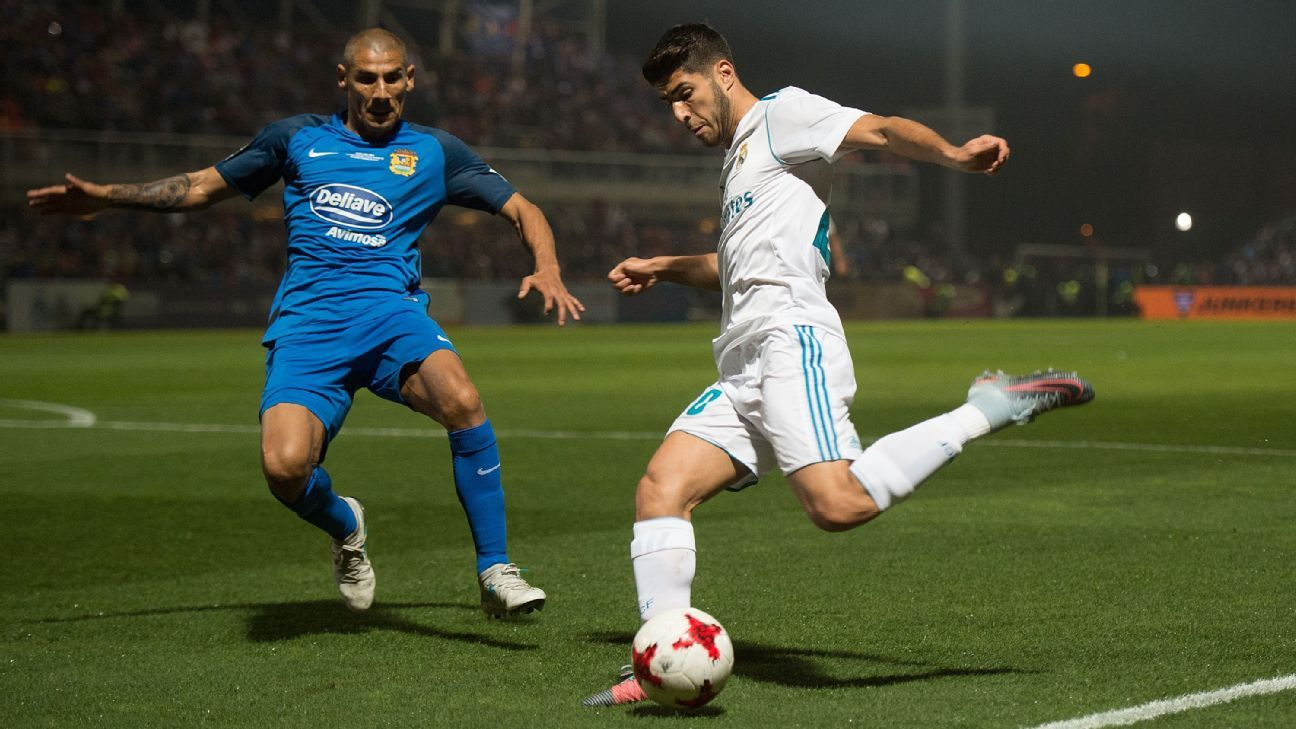 Marco Asensio and Real Madrid defeated Fuenlabrada on Thursday.