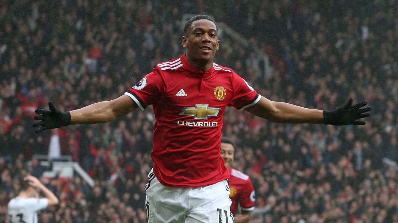 Chelsea are said to be keen on adding Anthony Martial to their attack.