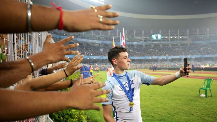 Phil Foden played a key role in England's comeback against Spain in the final.
