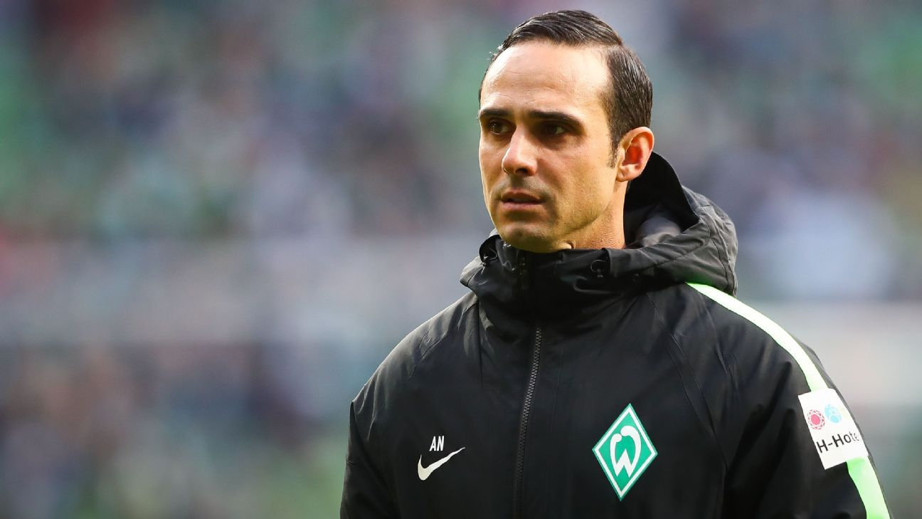 Alexander Nouri failed to win any of the opening 10 fixtures of the 2017-18 Bundesliga season as Werder Bremen coach.