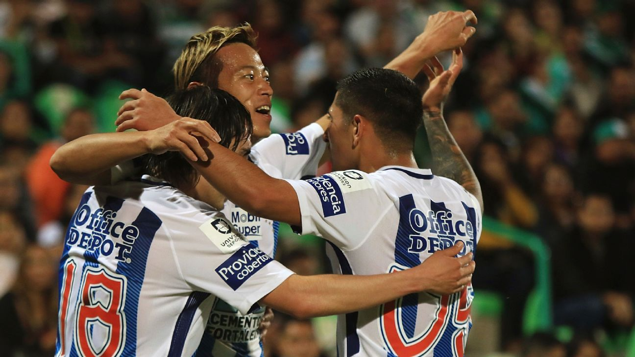 Pachuca has become the best run club in Mexico and is producing some of Mexico's top talent.