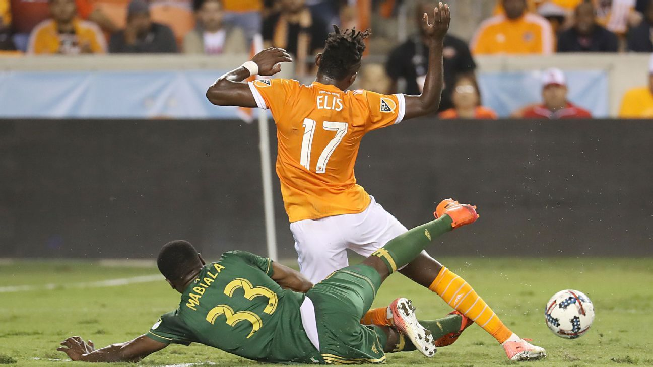 Houston Dynamo battles to draw with injury-riddled Portland Timbers
