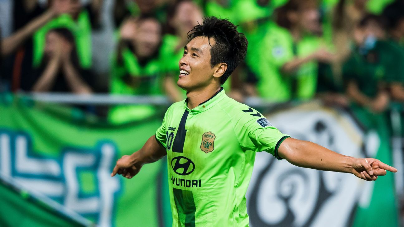 Lee Dong-Gook for Jeonbuk in 2016 ACL