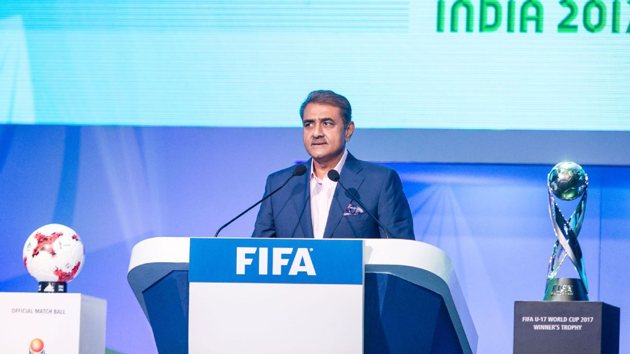 Praful Patel is also senior vice-president of the AFC and a member of FIFA's finance committee.