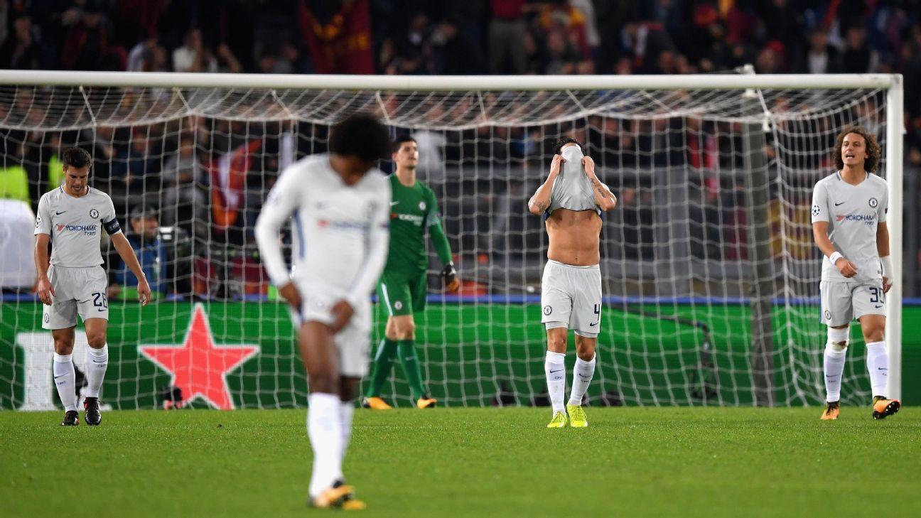 Chelsea Slavia Detail: Stephan El Shaarawy Roma Expose Chelseas Worsening Defence