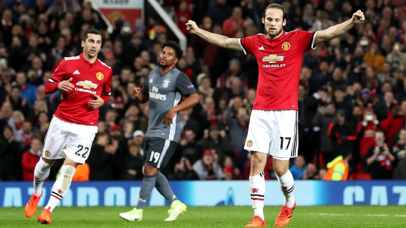 Daley Blind made 141 appearances for Manchester United, scoring six goals.