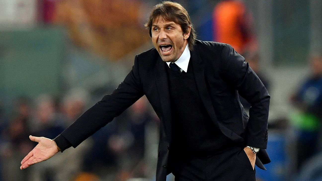 Antonio Conte has been linked with a move to Real Madrid this past month.