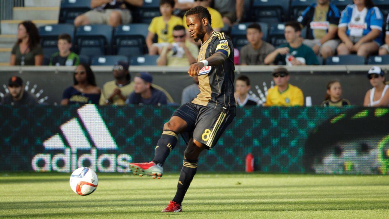 Philadelphia Union decline option on ex-U.S. midfielder Maurice Edu