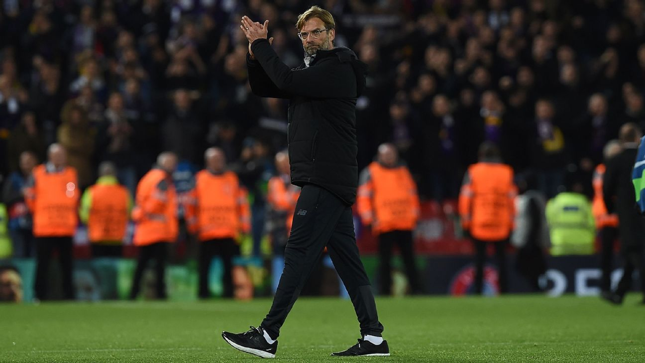What if -- only in certain games, only at certain times -- Jurgen Klopp ditched the high press and sat deep?