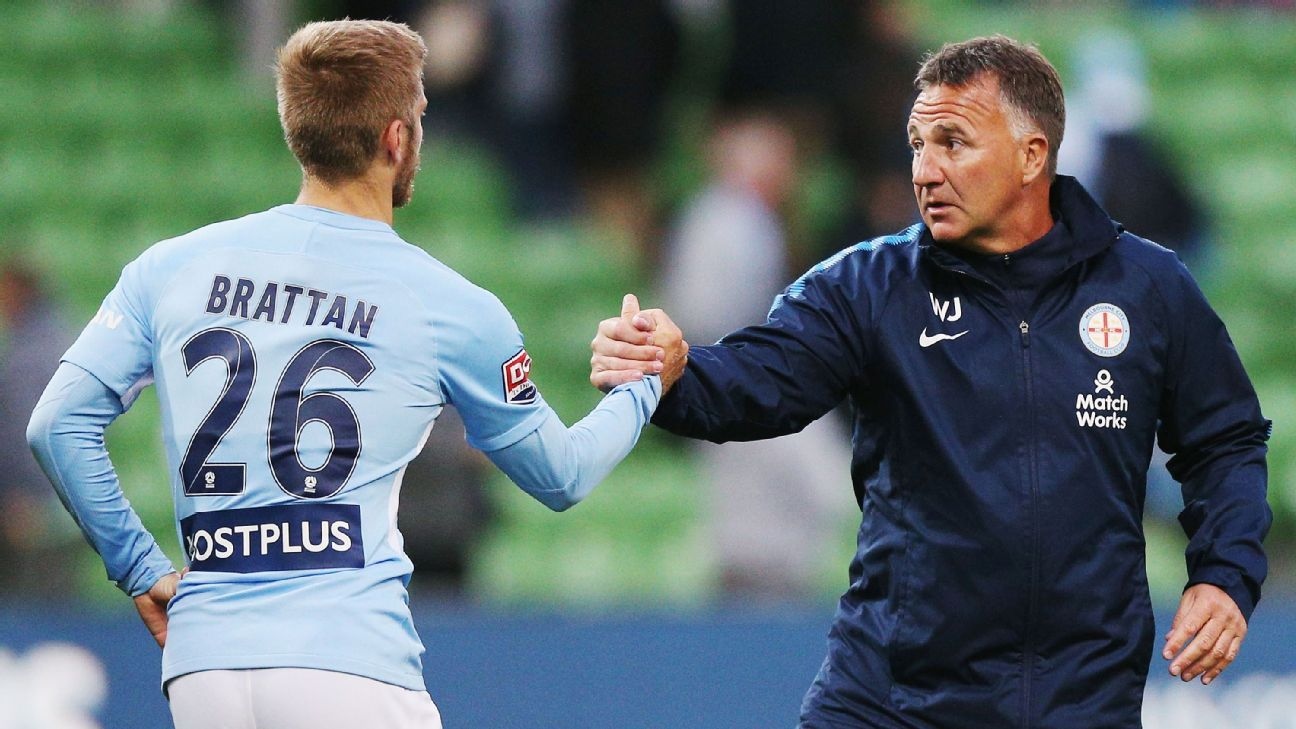 Melbourne City coach Warren Joyce