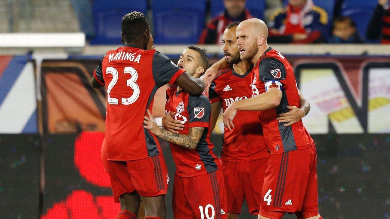 Toronto FC celebrates