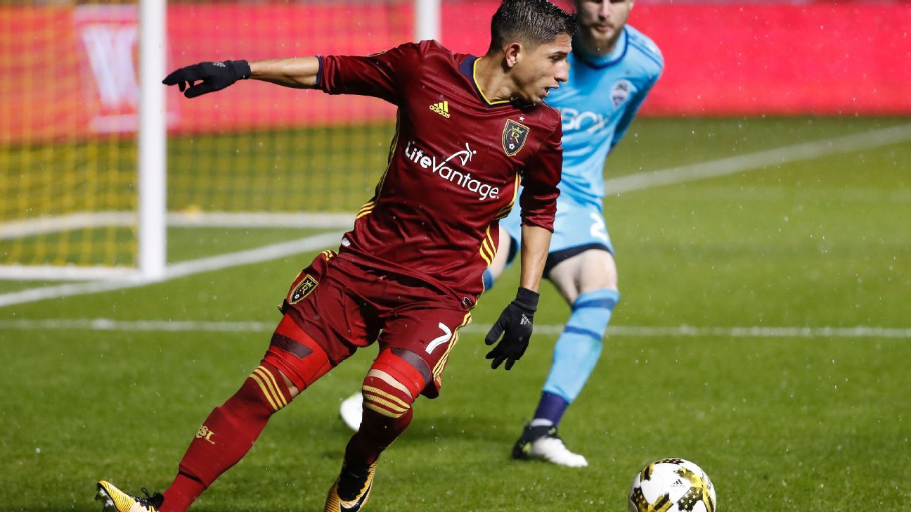 Savarino action RSL vs Seattle