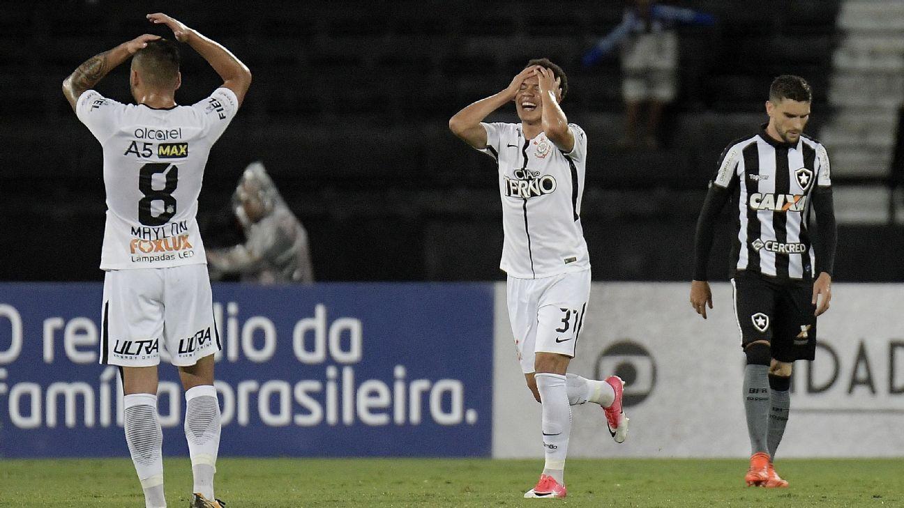 Corinthians woe vs Botafogo 171023
