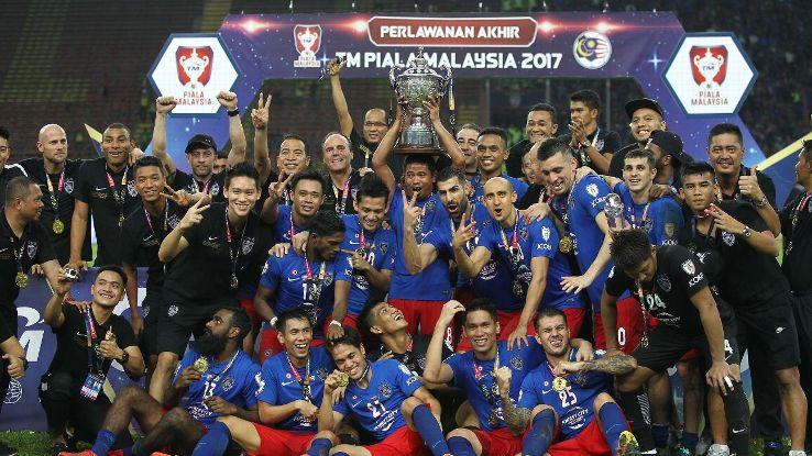 JDT win 2017 Malaysia Cup final