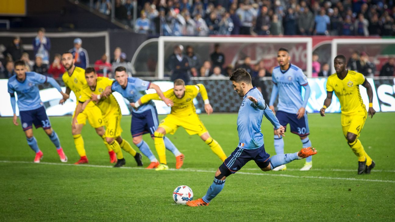 Columbus bends in the Bronx, falling to NYCFC, but advances on aggregate