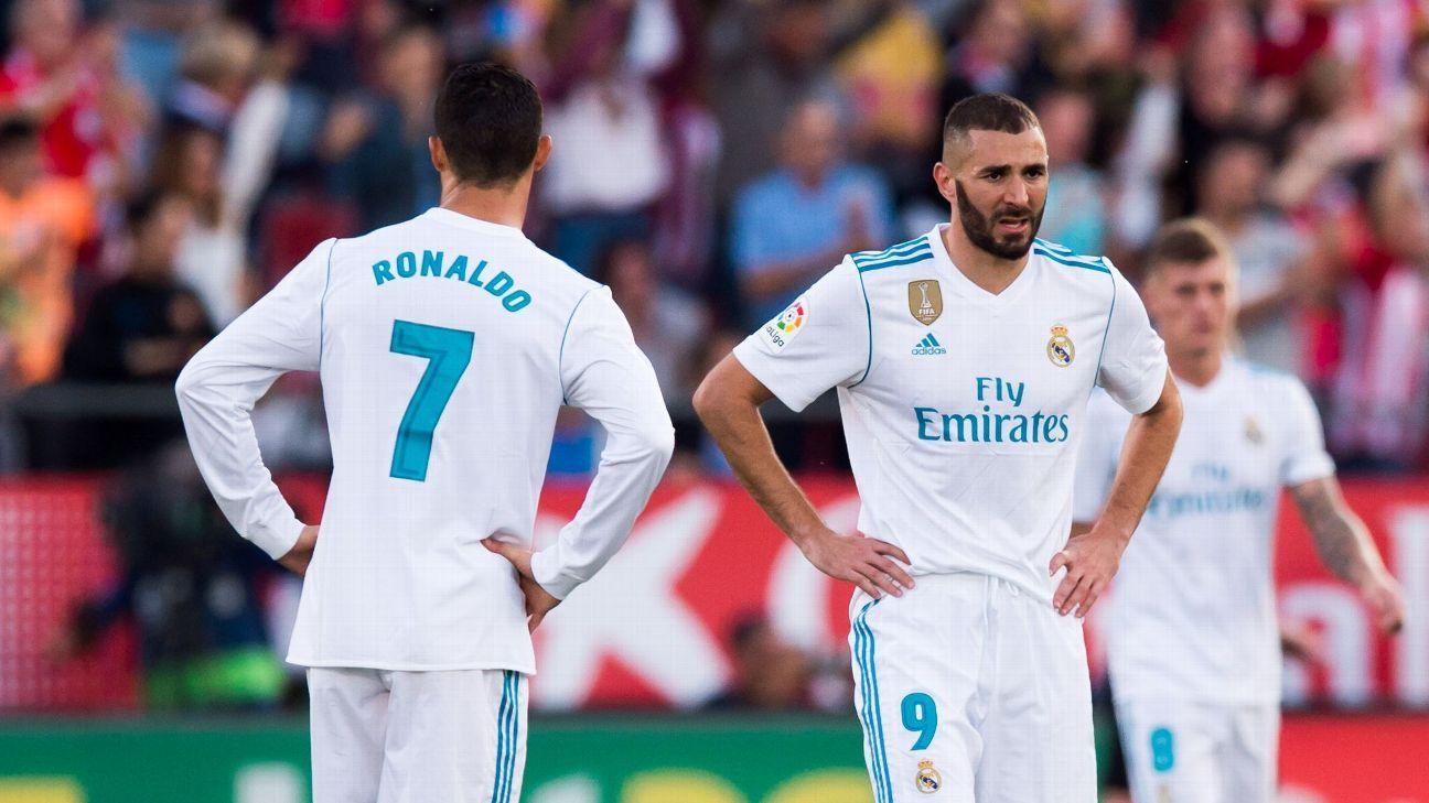 Cristiano Ronaldo Karim Benzema woe