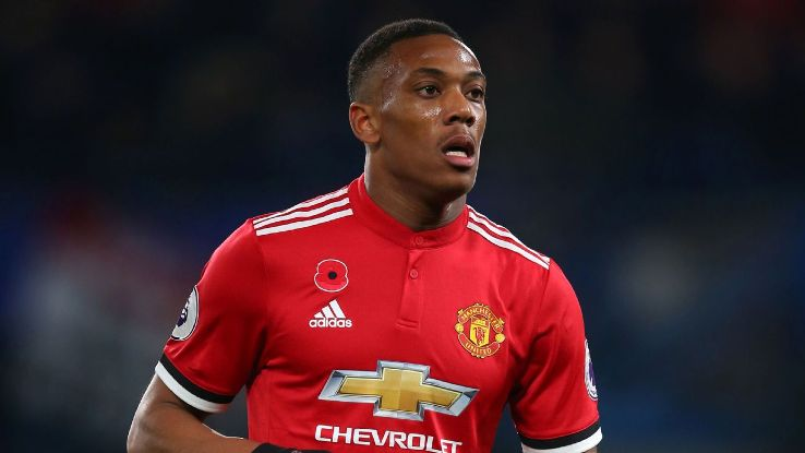 Anthony Martial scored 11 goals in 45 appearances in all competitions for Manchester United this season.