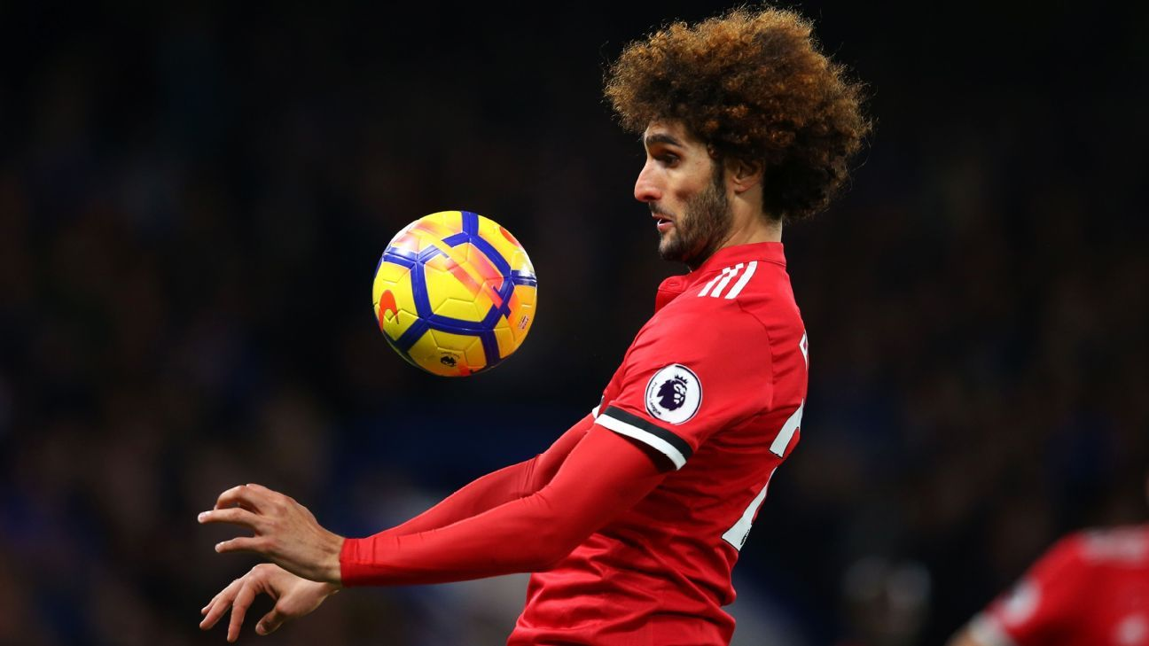 Man United s Jose Mourinho worried by potential Marouane Fellaini