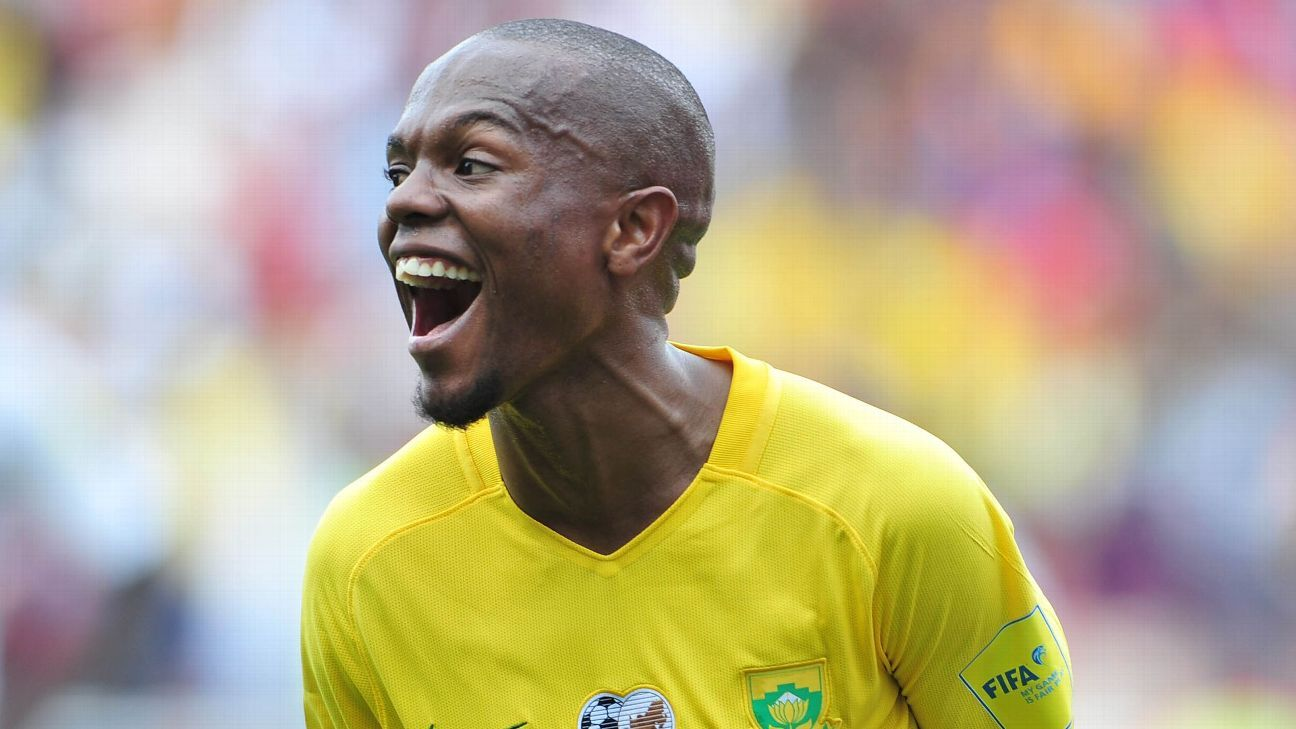 Thulani Serero is back in Bafana colours