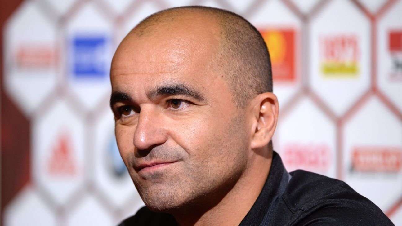 Spain speculation has 'surprised' Belgium manager Roberto Martinez