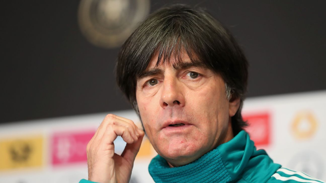 Joachim Low speaks ahead of Germany's friendly against England.