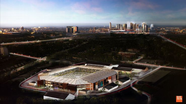 Nashville stadium rendering