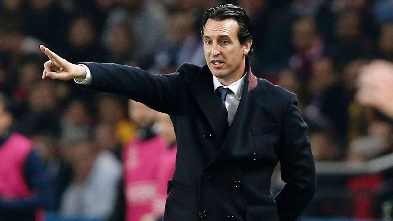 Unai Emery and PSG have a busy schedule ahead.