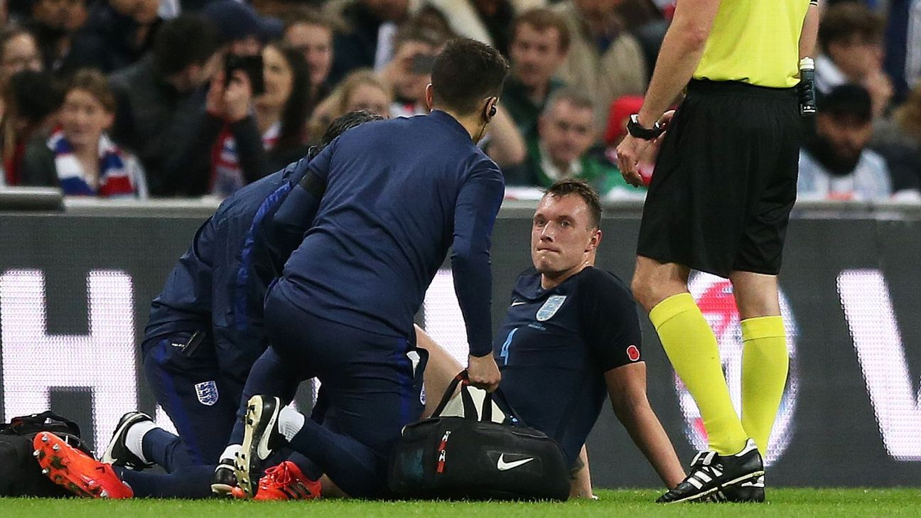 Phil Jones injury