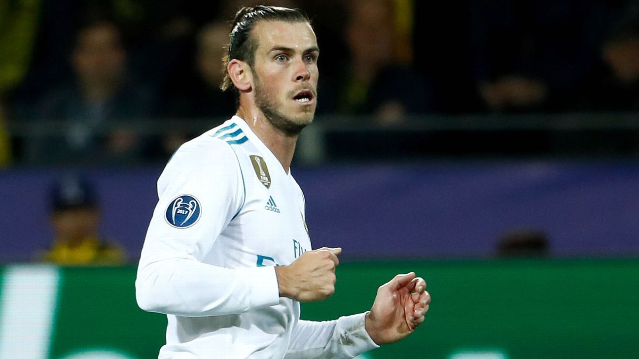 Real Madrid and Wales forward Gareth Bale