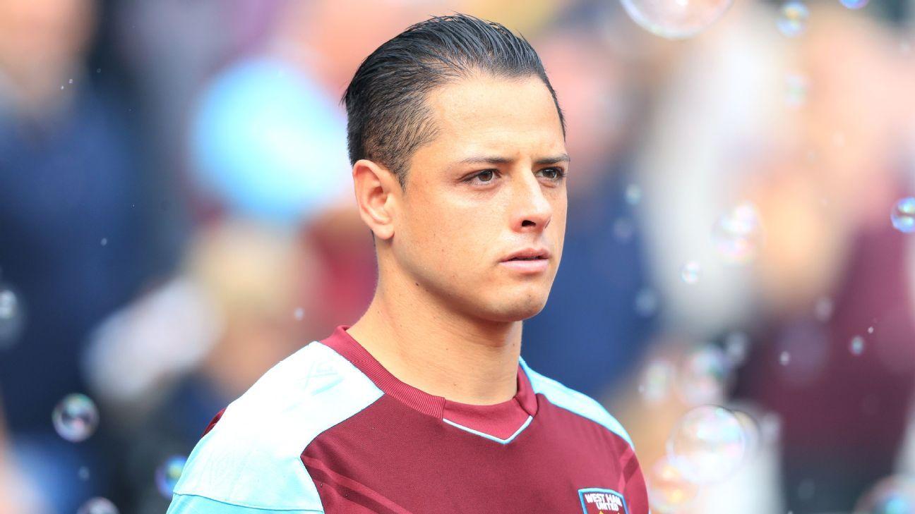 West Ham United's Javier Hernandez