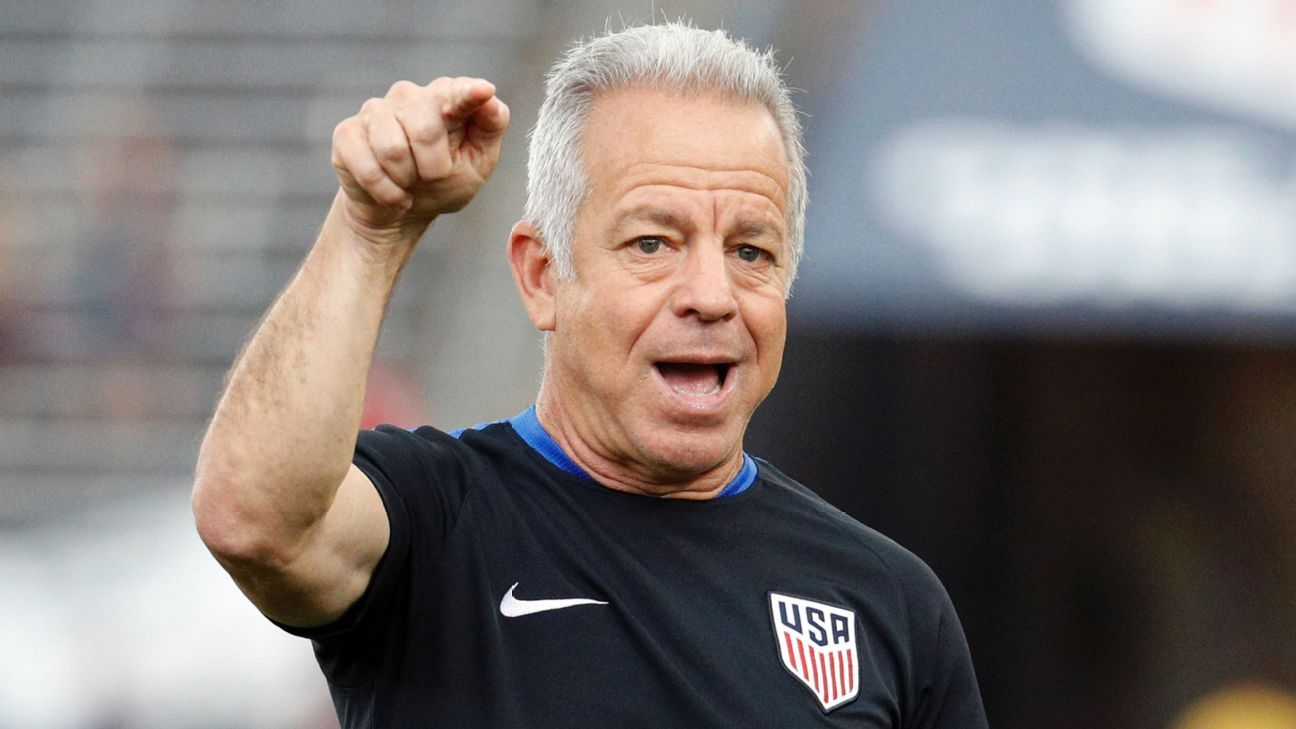 Dave Sarachan is preparing for his fourth match in charge of the U.S.
