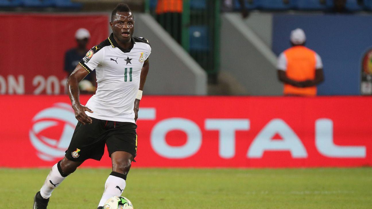 Wakaso Mubarak of Ghana