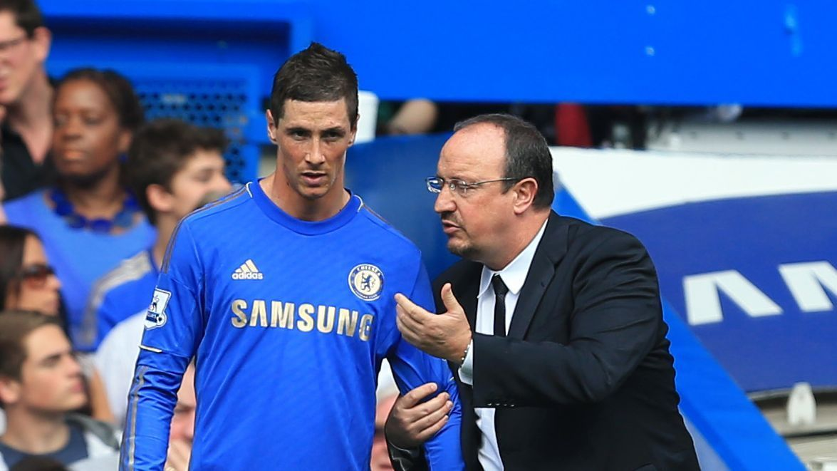 Fernando Torres & Rafa Benitez