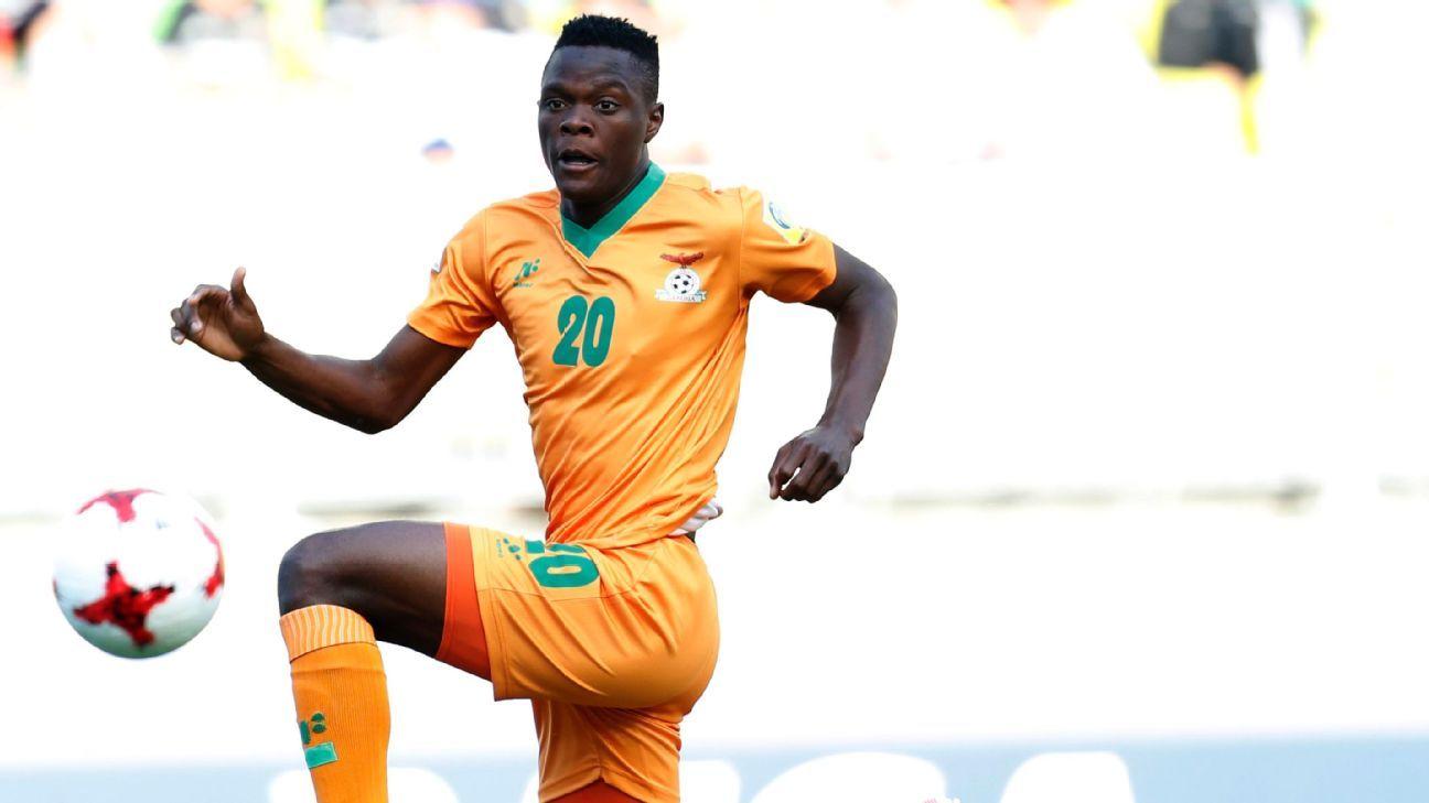 Patson Daka of Zambia