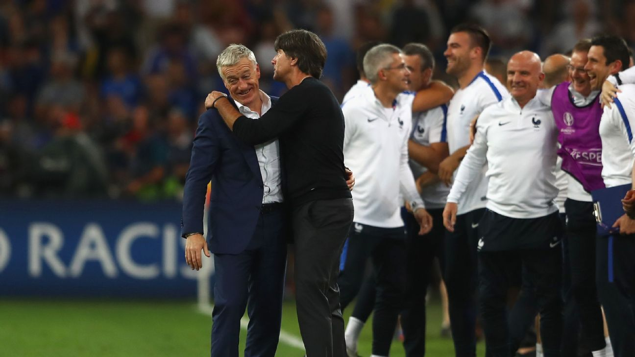 Joachim Low and Didier Deschamps