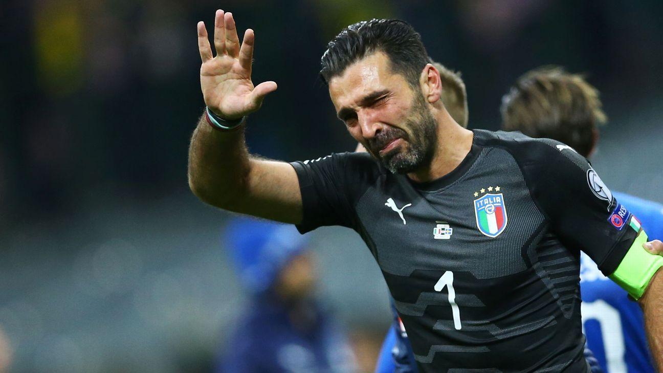 Buffon tears