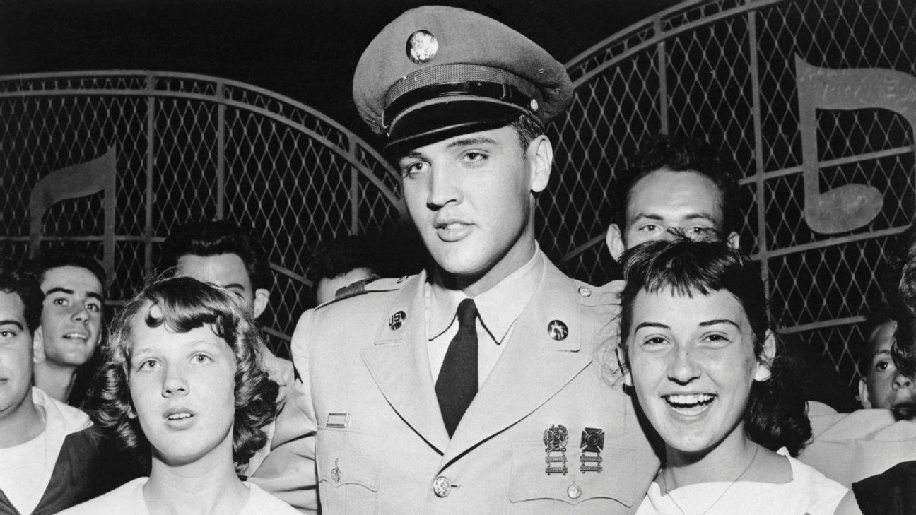 Elvis Presley was in the U.S. Army in 1958