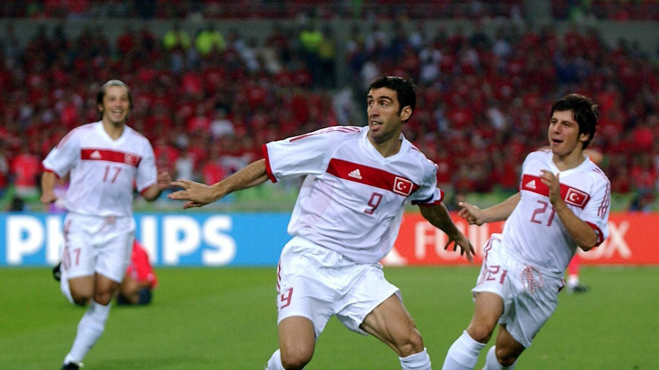 Hakan Sukur scored the fastest goal in World Cup history, against South Korea in 2002