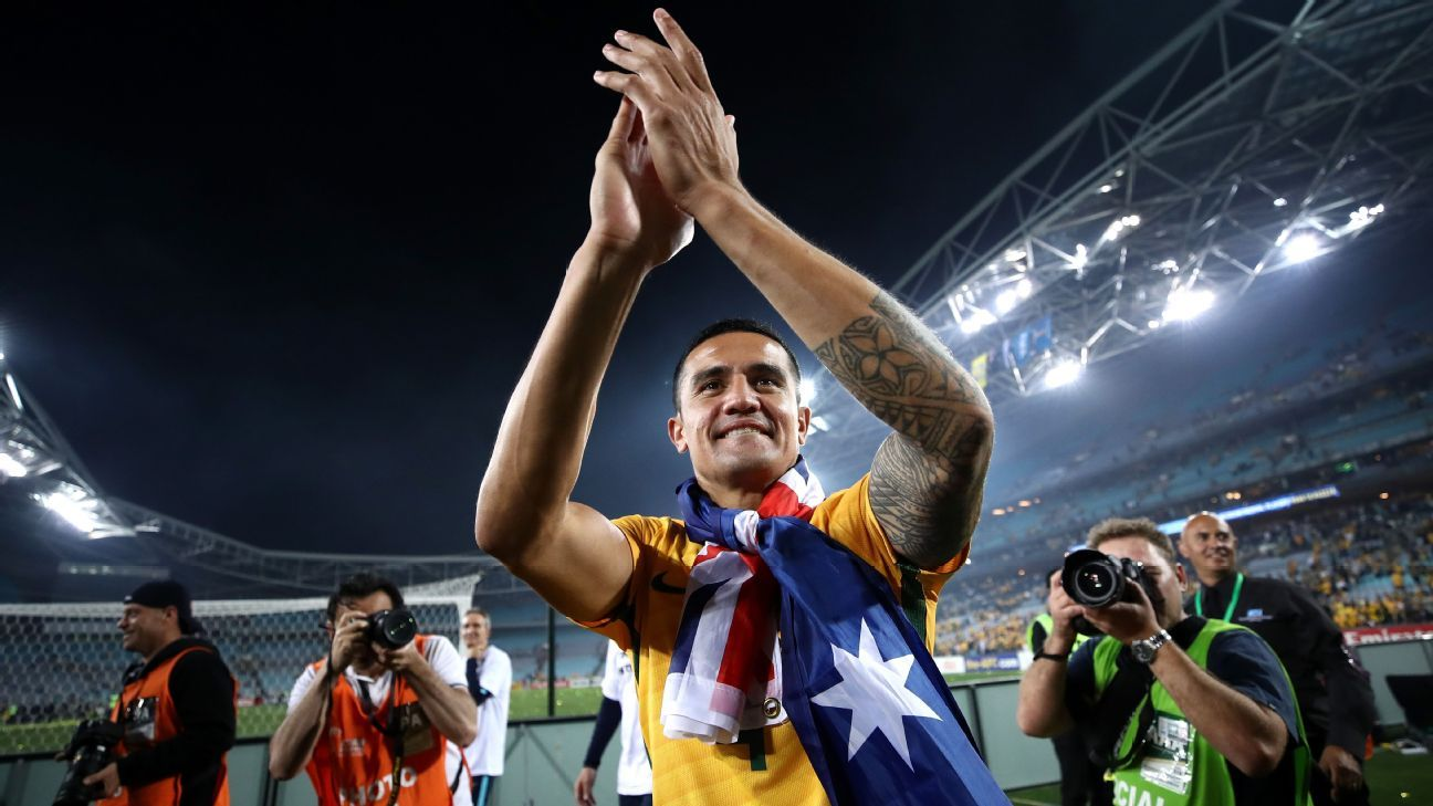 Tim Cahill played in four World Cups for Australia.