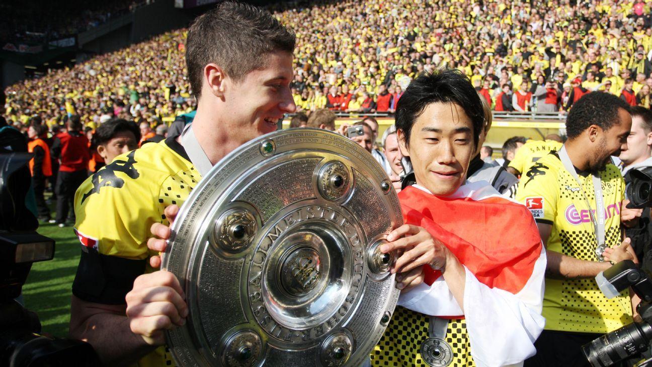 Sven Mislintat is credited with bringing stars including Robert Lewandowski and Shinji Kagawa to Dortmund