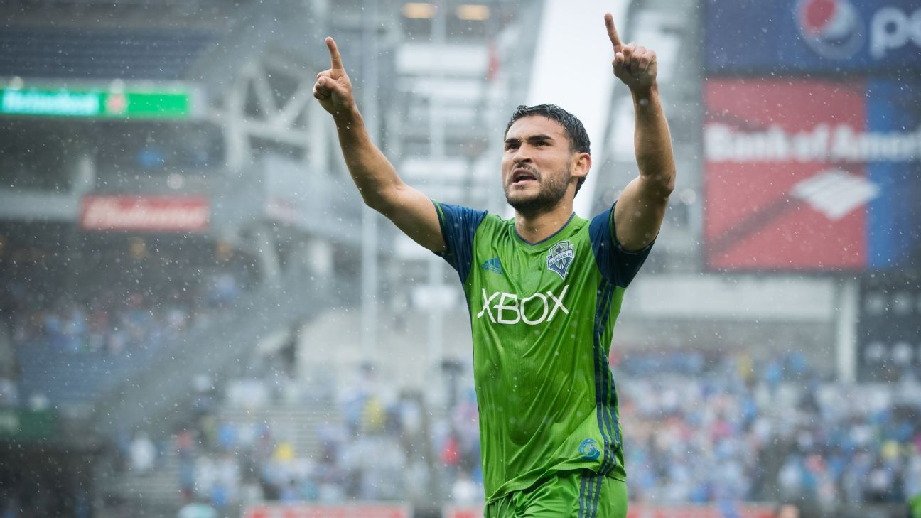 Roldan's constant evolution in Seattle has made him among Sounders' best