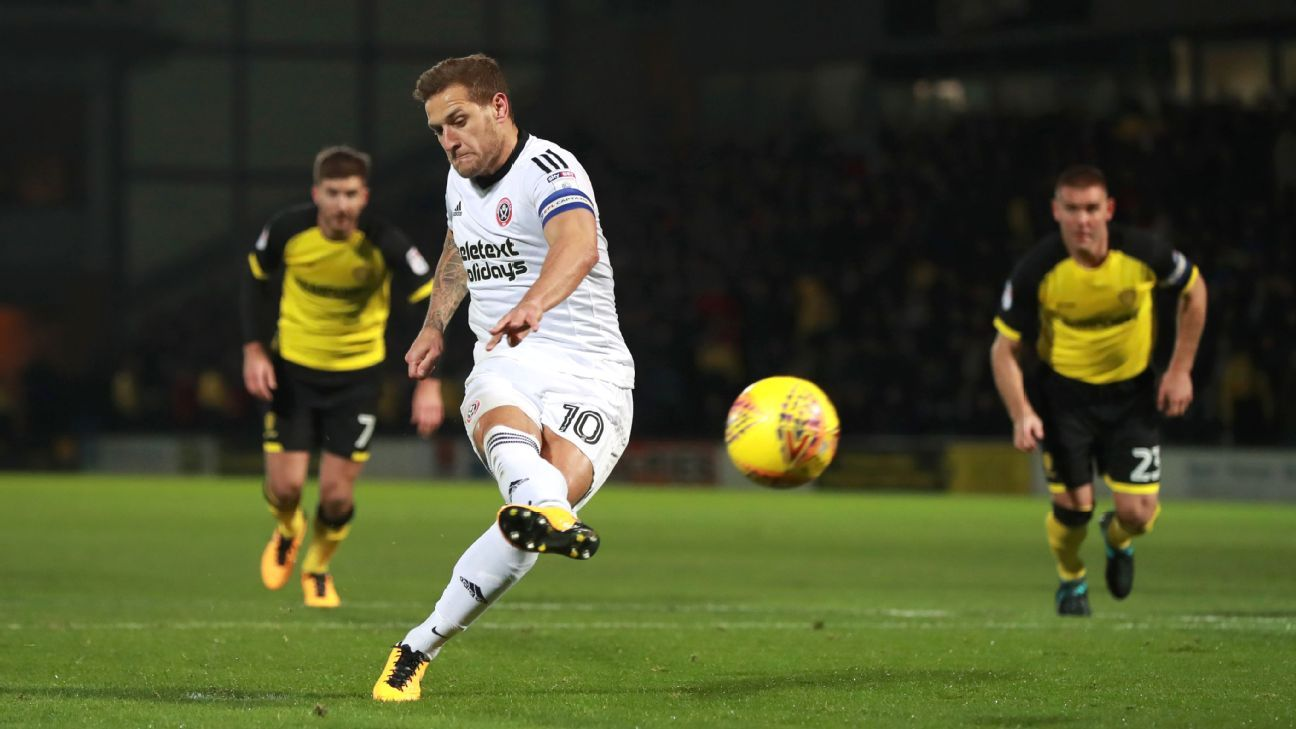 Colorado Rapids eyeing Sheffield United's Billy Sharp – sources