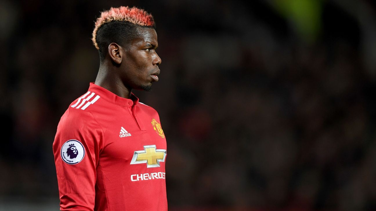 Paul Pogba returned to the Manchester United team against Newcastle.
