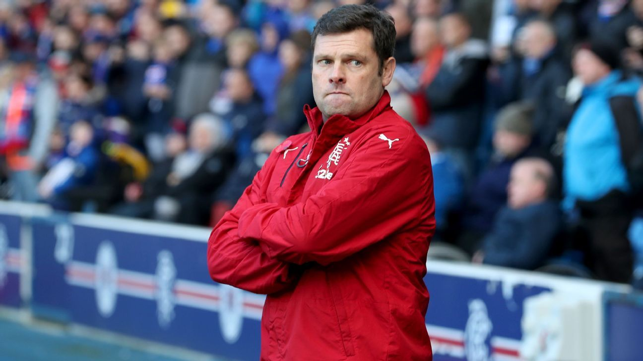 Graeme Murty is Rangers' caretaker manager.