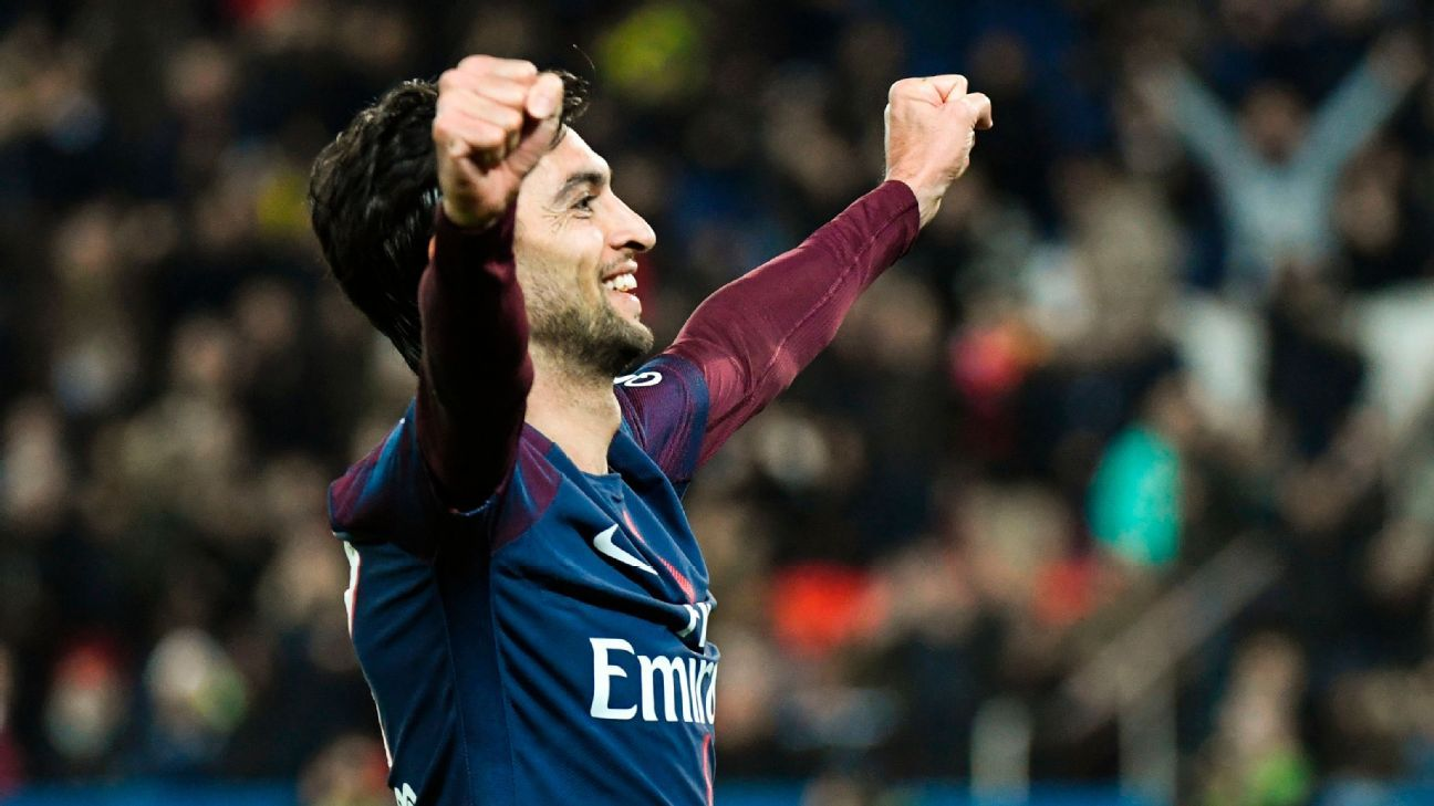 Sevilla favourites to sign PSG ace Javier Pastore ahead of Liverpool